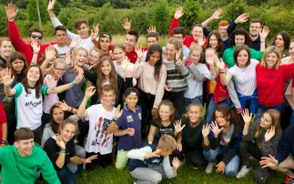 English Language Camp Ireland Students