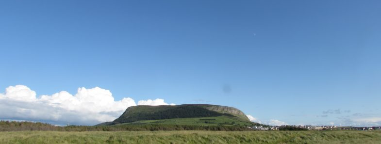 View of Knocknarea Mountain Sligo Ireland